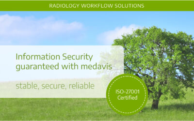 medavis certified according to ISO-27001:2013